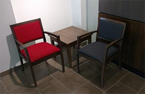 Office seating coner table and chair