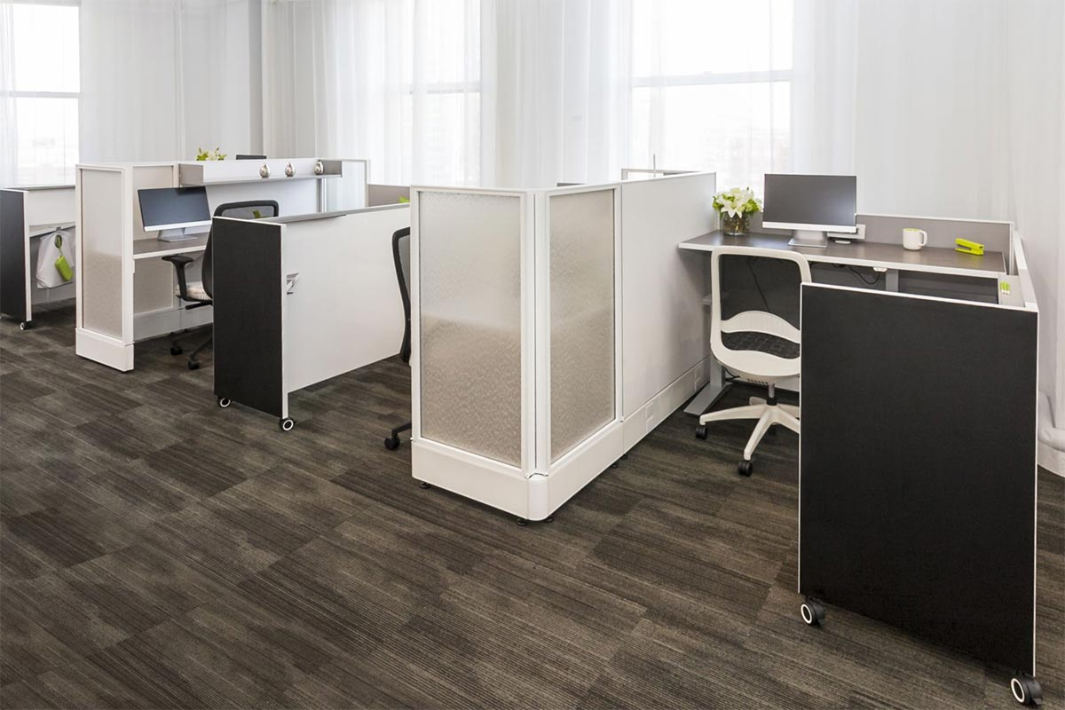 workspace desks and modular furniture